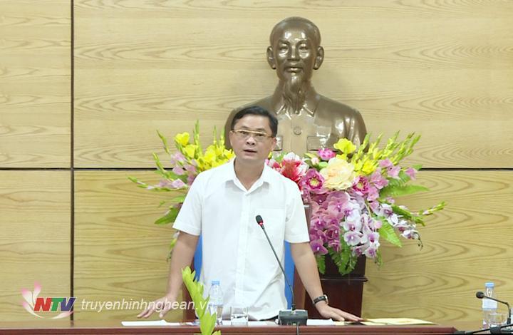 Chủ tịch UBND tỉnh Thái Thanh Quý thống nhất chủ trương: Cho phép Dự án Xi măng Hoàng Mai 2 được xây dựng nhà máy chính tại Khu công nghiệp Hoàng Mai 2 với yêu cầu tiên quyết là đảm bảo môi trường