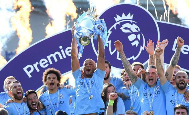 Man City trở thành nhà vô địch Premier League 2018/19 sau khi đánh bại Brighton 4-1 ở lượt đấu cuối.