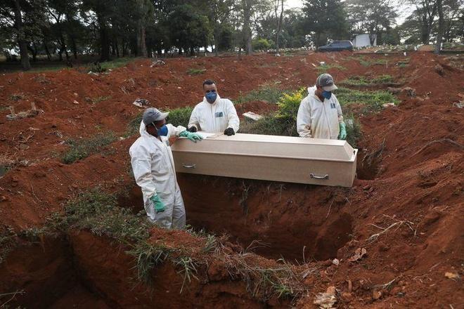 Brazil đang là điểm nóng về dịch trong khu vực. Ảnh: Reuters.