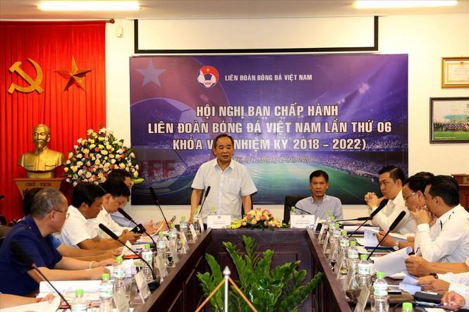 Hội nghị BCH VFF đã thông qua phương án điều chỉnh lịch thi đấu LS V-League mùa giải 2020