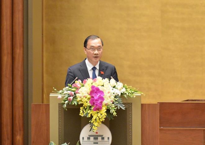 Chủ nhiệm Ủy ban Kinh tế Vũ Hồng Thanh. (Ảnh: Quochoi.vn)