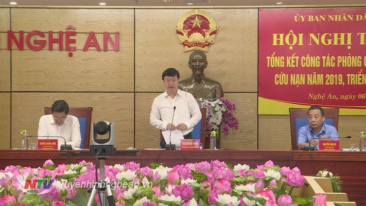 Chủ tịch UBND tỉnh Nguyễn Đắc Trung kết luận.