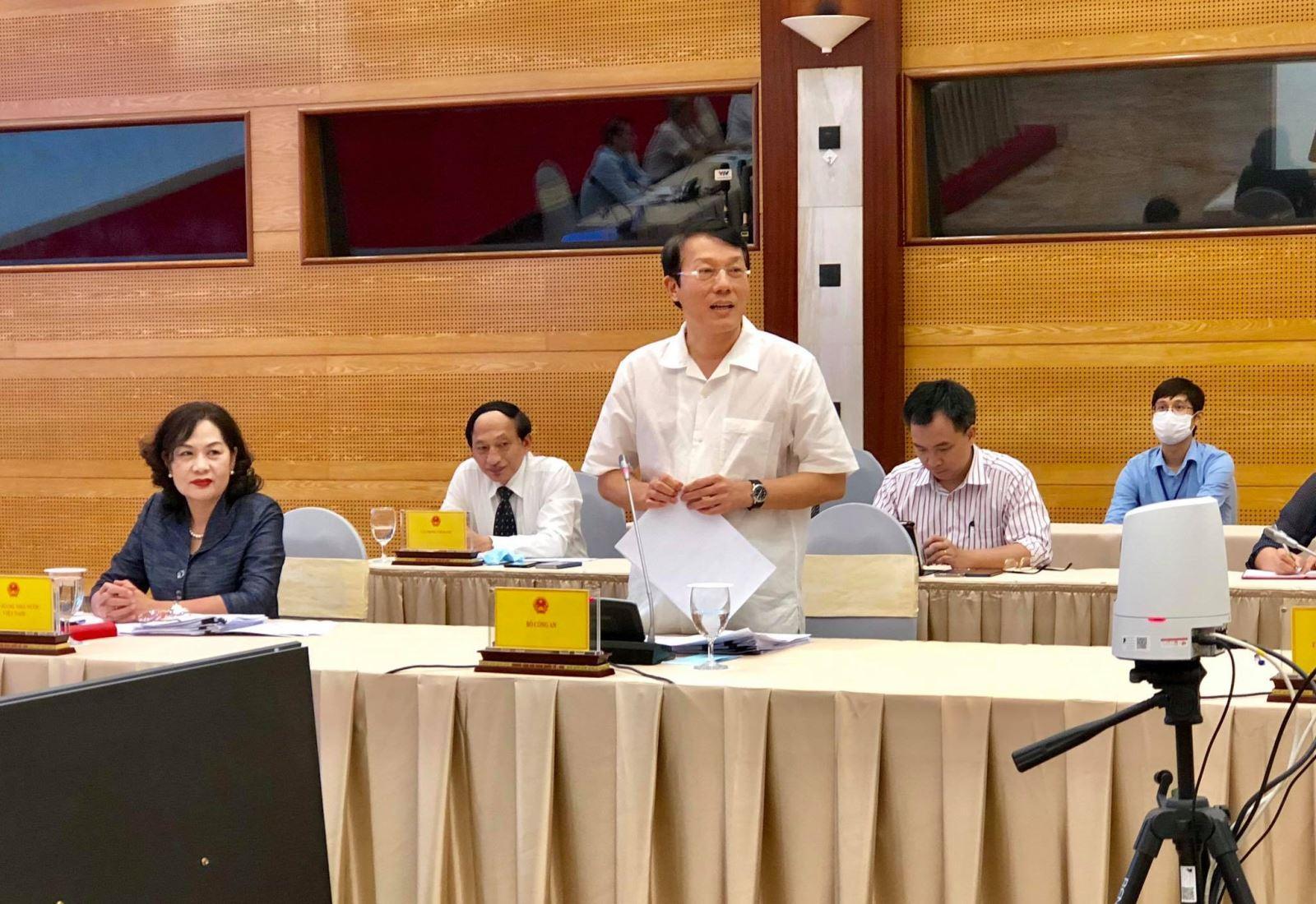 Thứ trưởng Bộ Công an Lương Tam Quang trả lời báo chí về vụ án hình sự vi phạm quy định về đấu thầu gây hậu quả nghiêm trọng xảy ra tại CDC Hà Nội (thuộc Sở Y tế Hà Nội).