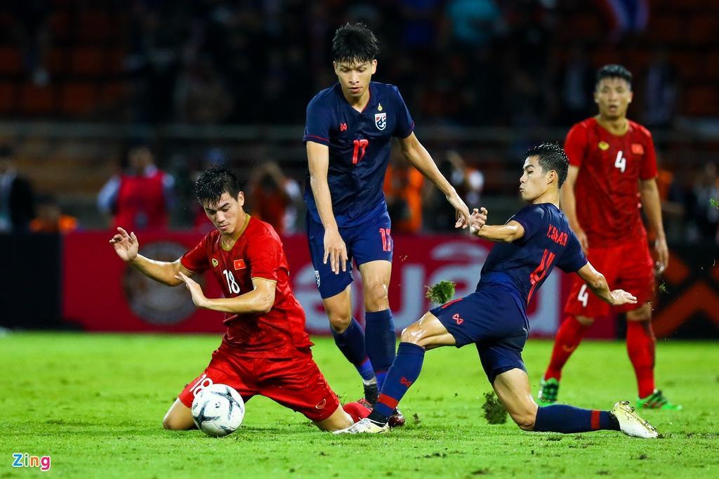 Trận đấu giữa tuyển Việt Nam và Thái Lan ở vòng loại World Cup 2022 dán nhãn A, cấp độ chuyên nghiệp cao nhất của FIFA.