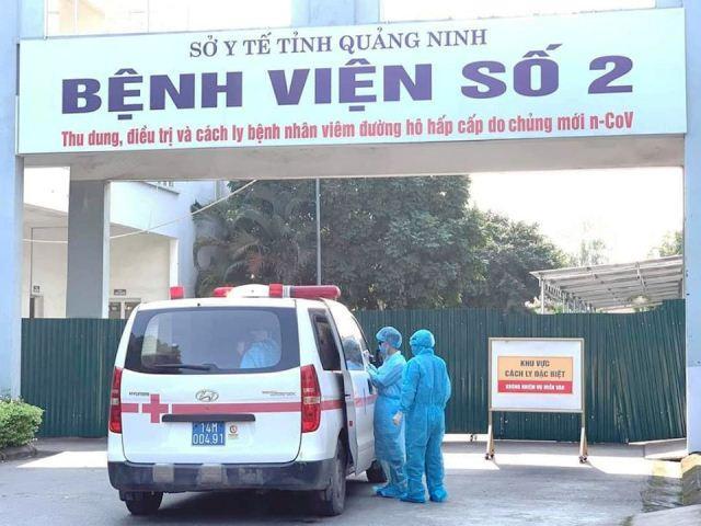 Bệnh viện số 2 Quảng Ninh - nơi điều trị bệnh nhân COVID-19.