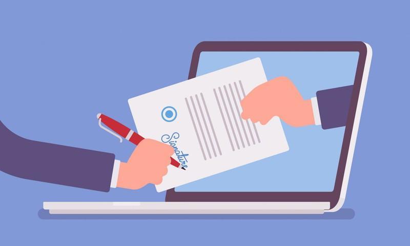Thông tư 16 của Bộ TT&TT được kỳ vọng giúp mở rộng thị trường chữ ký số cá nhân, thúc đẩy phát triển chính phủ điện tử. (Ảnh minh họa)