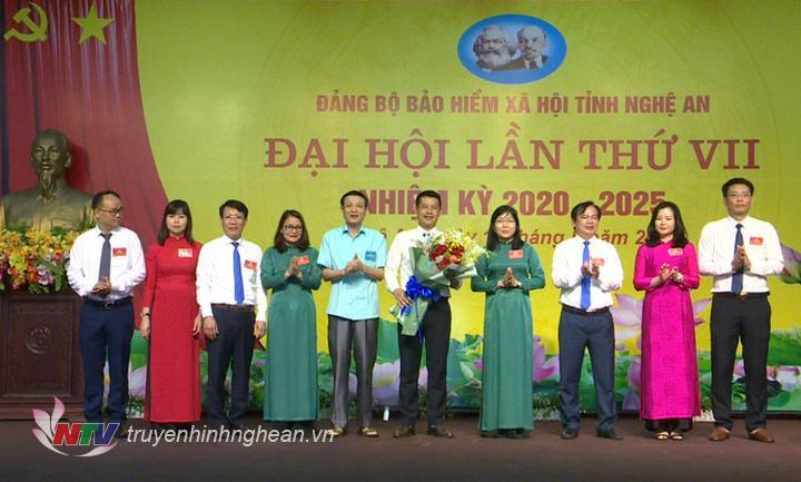 BCH khóa mới ra mắt tại Đại hội.