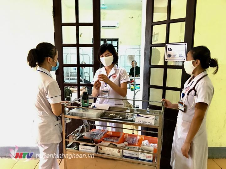 Các cơ sở y tế huyện Đô Lương sẵn sàng các phương án