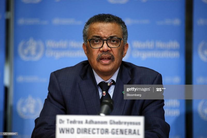 Tổng Giám đốc Tổ chức Y tế thế giới – WHO, ông Tedros Adhanom Ghebreyesus. Ảnh: Getty.