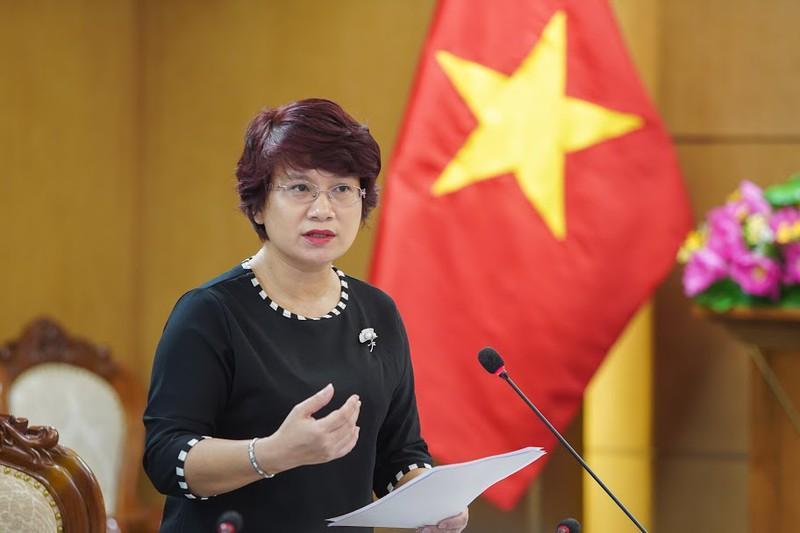 Bà Nguyễn Thu Thủy  quyền Vụ trưởng Vụ Giáo dục Đại học, Bộ Giáo dục và Đào tạo.
