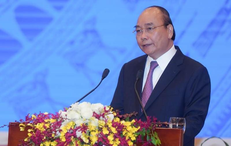 Thủ tướng Nguyễn Xuân Phúc chủ trì hội nghị trực tuyến toàn quốc Thủ tướng Chính phủ với doanh nghiệp
