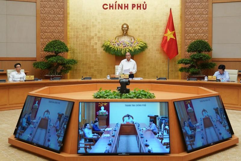 Thủ tướng chủ trì phiên họp Chính phủ tháng 4/2020.