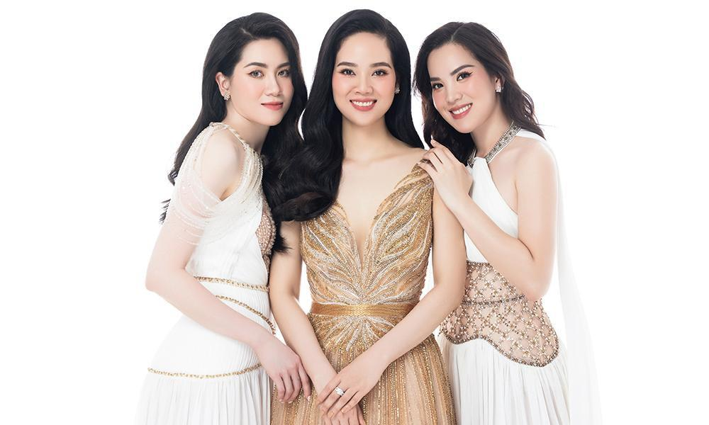 Top 3 Hoa hậu Việt Nam 2002 có màn hội ngộ trong một bộ ảnh sau gần 20 năm đăng quang.