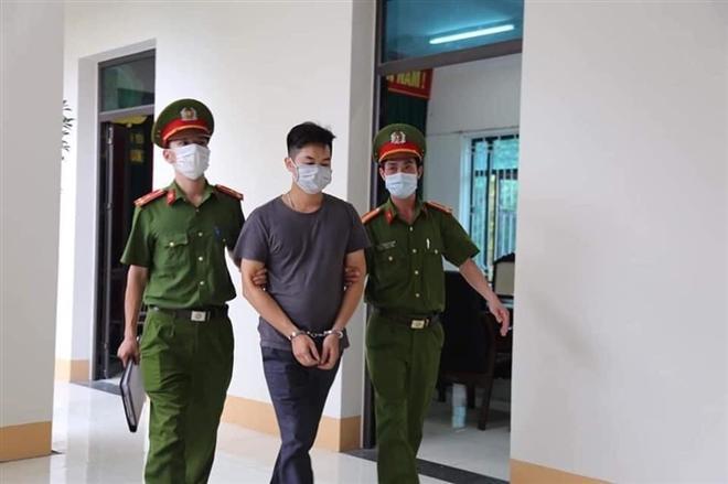 Bị can Ngô Văn Thắng, kẻ chủ mưu vụ phát tán các clip nóng mạo danh bar, karaoke Sunny. (Ảnh: Công an cung cấp)