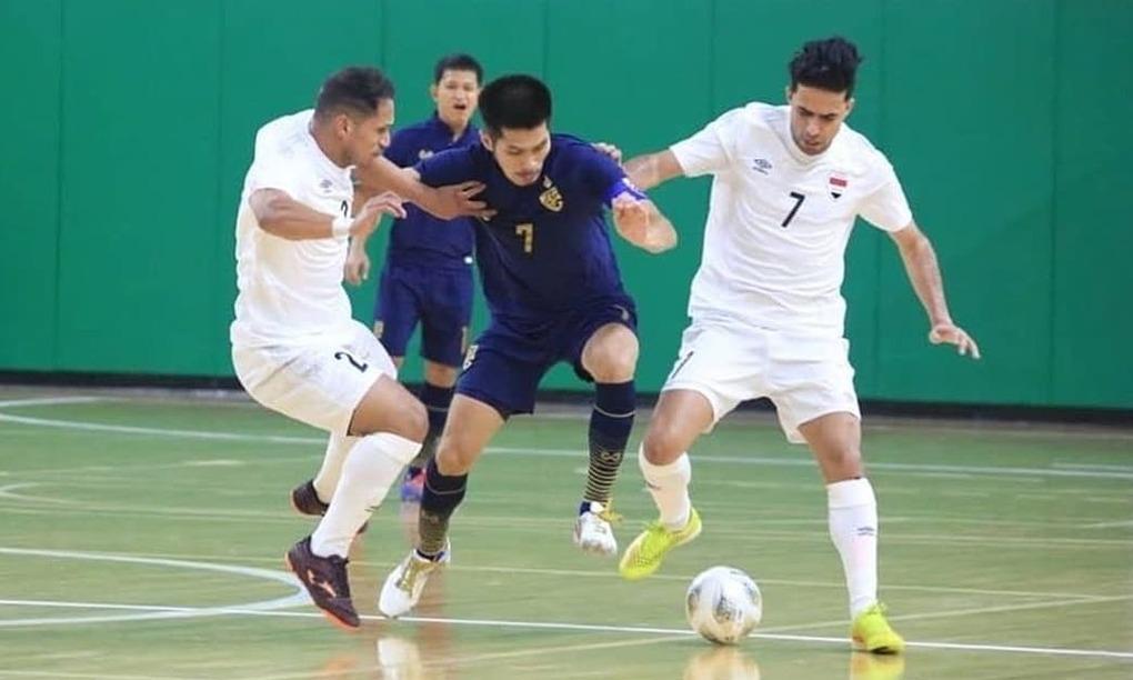 Thái Lan tràn đầy cơ hội lần thứ năm dự World Cup futsal. Ảnh:AFC