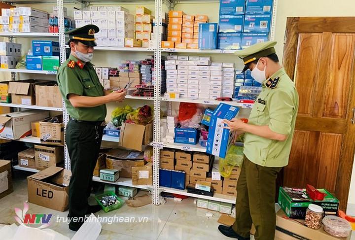 Lực lượng chức năng tăng cường kiểm tra kiểm soát thị trường trong lĩnh vực TMĐT