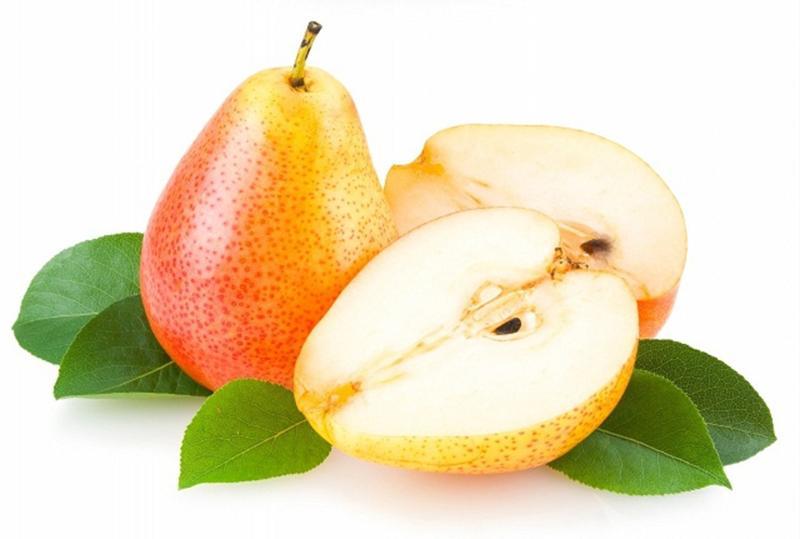 Quả lê: Sợi thô được tìm thấy trong quả lê có thể làm tổn thương lớp màng nhầy khi dạ dày trống rỗng, gây đau hoặc tổn thương dạ dày.