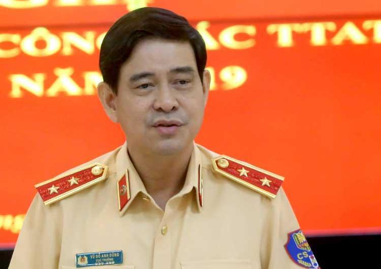 Trung tướng Vũ Đỗ Anh Dũng, Cục trưởng Cảnh sát giao thông.