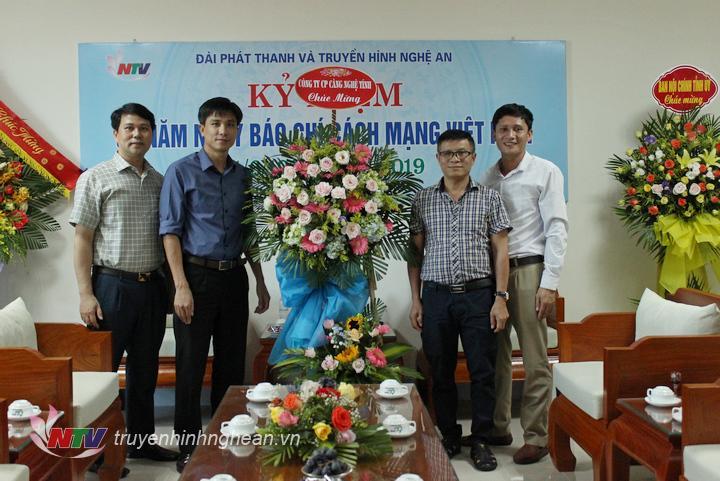 Công ty CP Cảng Nghệ Tĩnh chúc mừng Đài PT-TH Nghệ An.