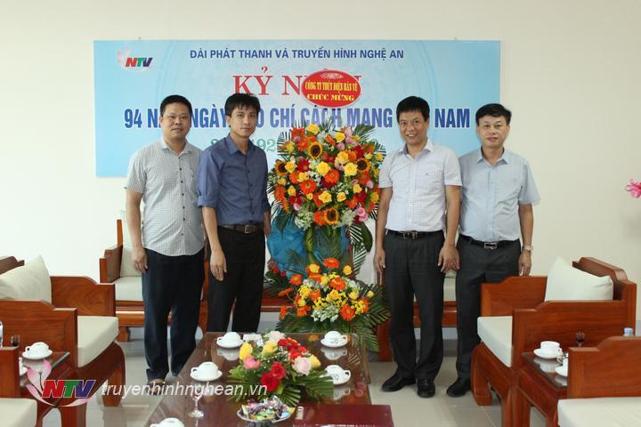Công ty CP Thủy điện Bản Vẽ chúc mừng.