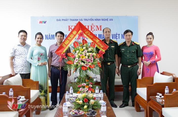 Lữ đoàn PK 238 chúc mừng Đài.