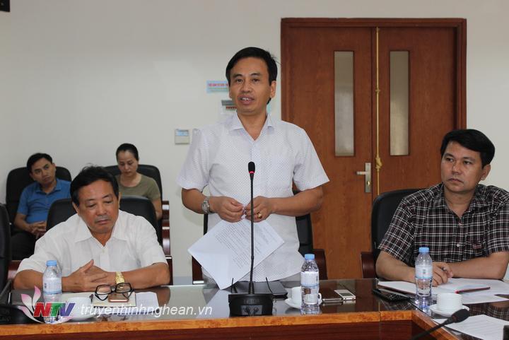 Đồng chí Nguyễn Bá Hảo - Phó Giám đốc Sở Thông tin - Truyền thông