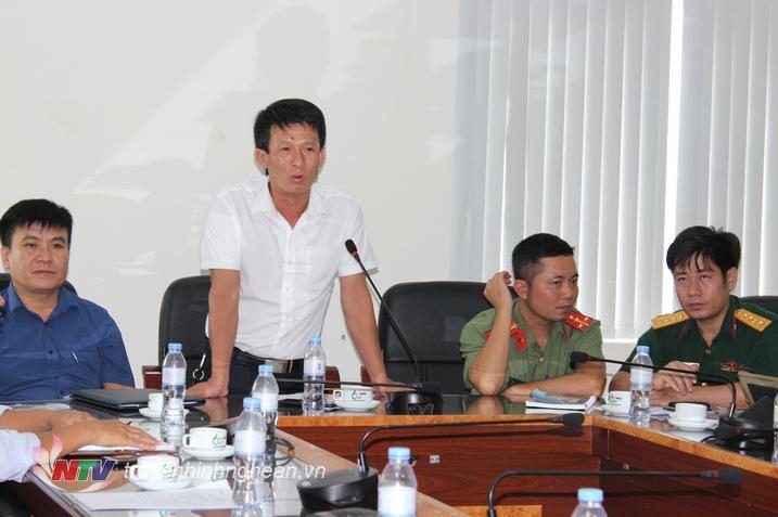 Đại diện Đài TT-TH huyện Quỳ Hợp đề nghị