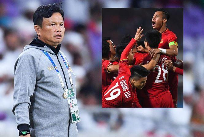 HLV Yodyardthai thừa nhận Thái Lan nôn nóng đấu Việt Nam. Ảnh: internet