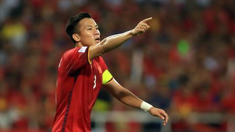 Quế Ngọc Hải tiếp tục mang băng đội trưởng tuyển Việt Nam tại King's Cup 2019
