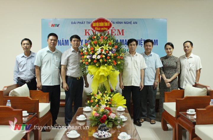 Ban Nội chính Tỉnh ủy chúc mừng Đài PT-TH Nghệ An.