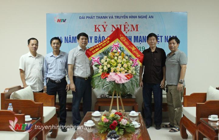 CLB Sông Lam Nghệ An chúc mừng.