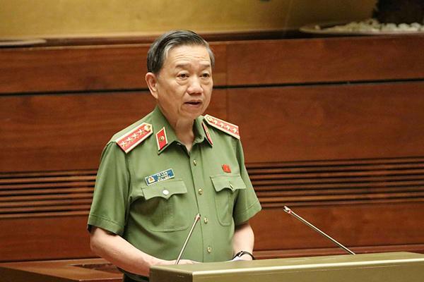Đại tướng Tô Lâm - Bộ trưởng Công an.