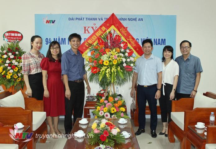 Sở Du lịch chúc mừng Đài PT-TH Nghệ An.