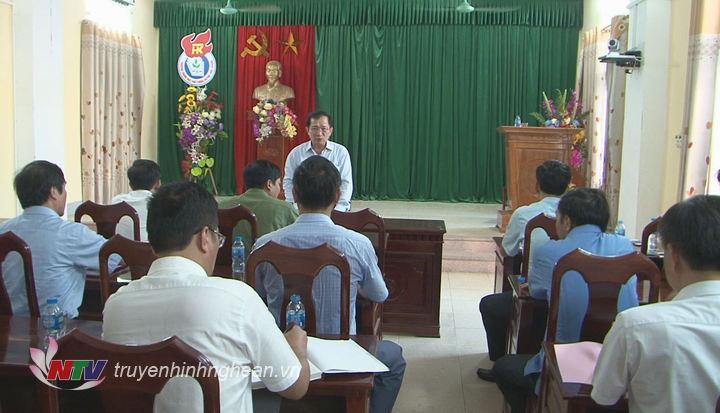 Phó Chủ tịch UBND tỉnh Đinh Viết Hồng