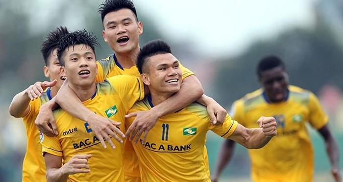 Lịch thi đấu vòng 5 V-League 2020: Ngày 18/6 17 giờ: Thanh Hóa - Nam Định 17 giờ: HAGL - Sài Gòn FC 18 giờ: Hồng Lĩnh Hà Tĩnh - SHB Đà Nẵng 19 giờ: Hà Nội FC - SLNA