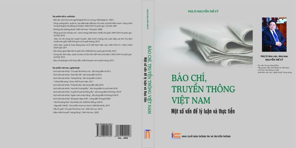 Trang bìa cuốn sách của PGS.TS Nguyễn Thế Kỷ.