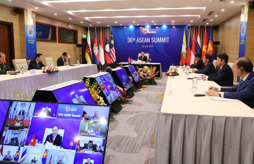 Năm nay là lần đầu tiên Hội nghị Cấp cao ASEAN được tổ chức trực tuyến.