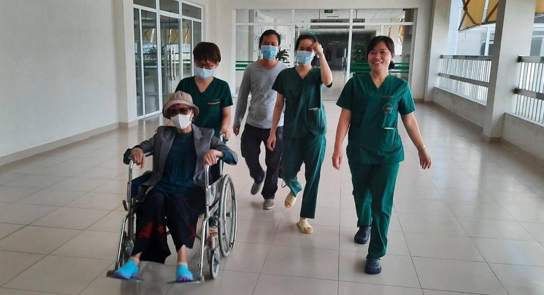 Bệnh nhân đã bình phục rất tốt.