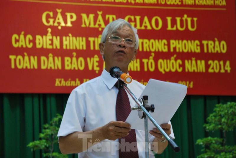Ông Nguyễn Chiến Thắng khi còn làm Chủ tịch UBND tỉnh Khánh Hoà