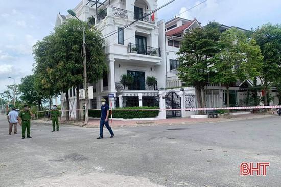 Phong tỏa khu vực sinh sống của ca bệnh tại TDP Tân Quý, phường Thạch Quý.