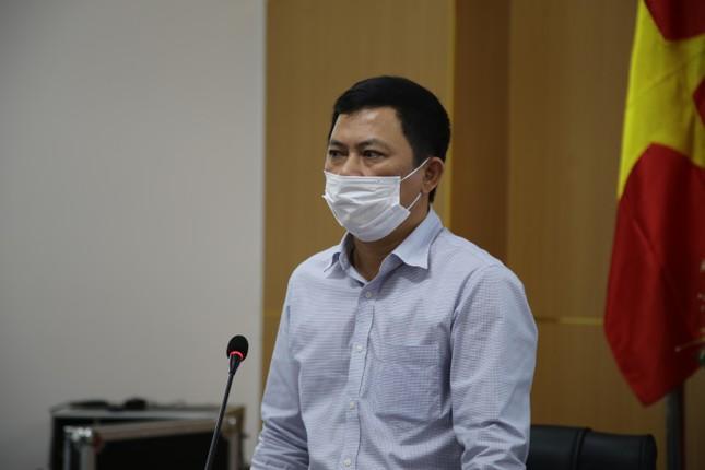 Ông Lê Ngọc Châu phát biểu tại buổi làm việc.