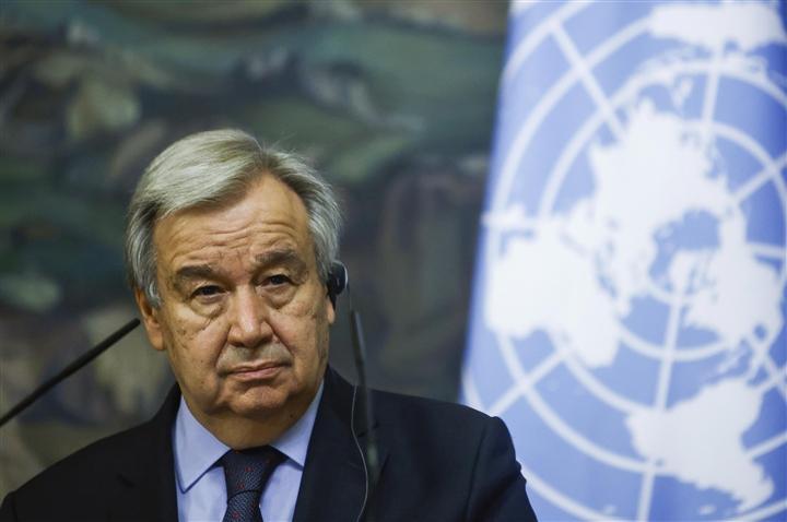 Tổng thư ký Liên hợp quốc Antonio Guterres. (Ảnh: Reuters)