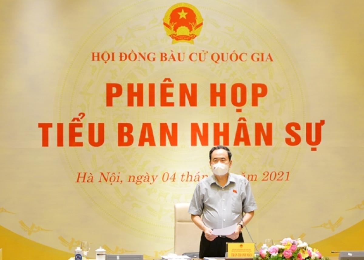 Ông Trần Thanh Mẫn phát biểu khai mạc