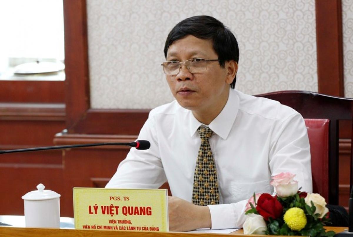 PGS.TS Lý Việt Quang (Ảnh: dangcongsan.vn)