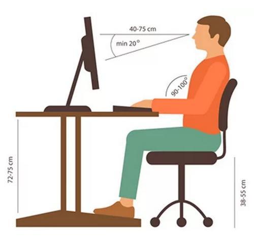 Ngồi đúng tư thế không chỉ giúp dáng đẹp mà còn hỗ trợ giảm cân hiệu quả.