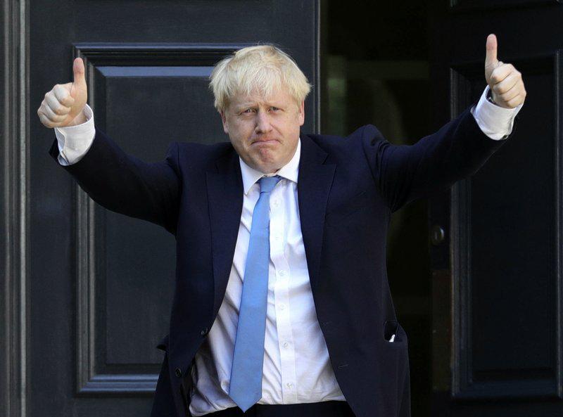 Tân Thủ tướng Anh Boris Johnson.