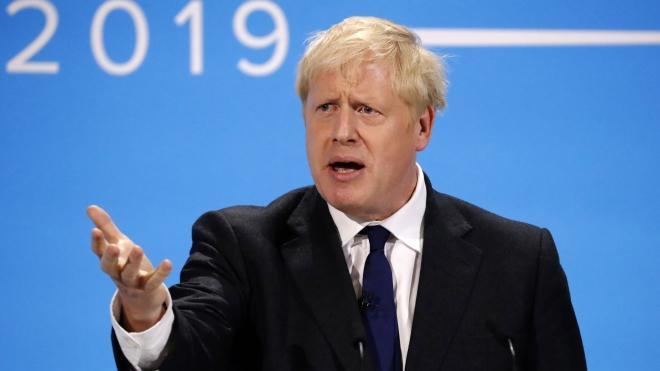 Thủ tướng mới của Anh Boris Johnson.