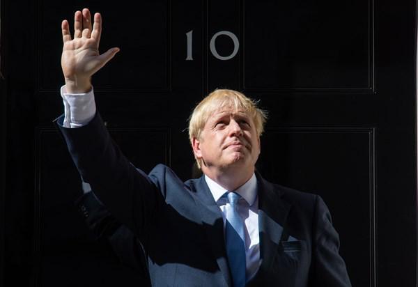 Tân Thủ tướng Anh Boris Johnsơn tại Số 10 phố Downing