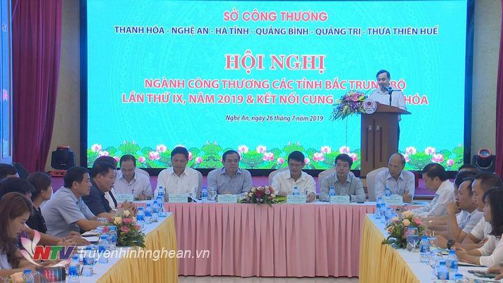 Lãnh đạo Sở Công Thương 6 tỉnh khu vực Bắc Trung Bộ