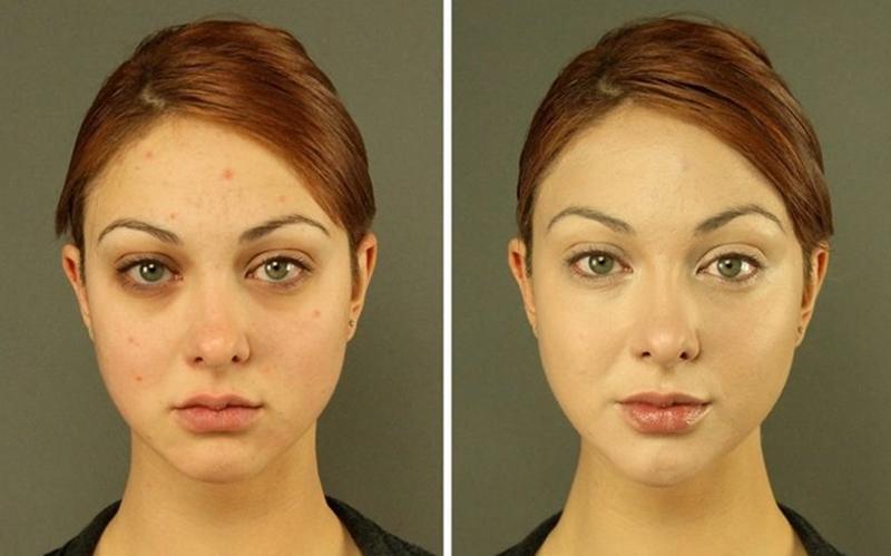 Nhiều người trong chúng ta nhầm lẫn giữa kem che khuyết điểm và sản phẩm tạo khối. Kem che khuyết điểm chỉ sử dụng ở vùng gần mắt, trong khi một bộ tạo khối sẽ giúp giải quyết khuyết điểm khuôn mặt. Khi sử dụng kem che khuyết điểm, bạn nên dưỡng ẩm cho da trước. Còn phấn tạo khối cần được tán đều để giúp gương mặt trong tự nhiên.